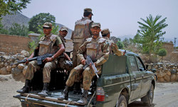 Clashes in Balochistan kill two soldiers, five rebels