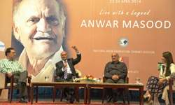 Humour is in my blood, says Anwar Masood