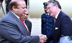Nawaz Sharif reaches London on British PM's invite