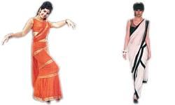 Swinging the sari