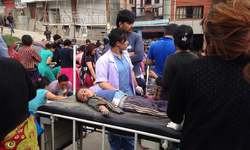 Disastrous earthquake in Nepal kills more than 1200, infrastructure collapses