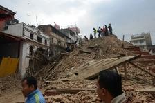 نیپال، ہندوستان میں زلزلہ