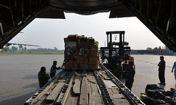 Pakistan sends relief goods for quake victims in Nepal