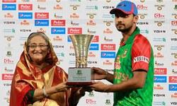 بنگلہ دیشی ٹیم پر انعامات کی بارش