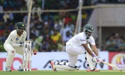 Yasir strikes after slow Bangladesh start
