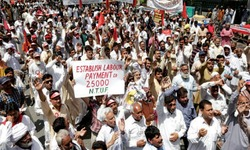 Processions, rallies mark Labour Day