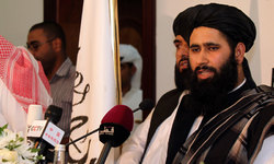 Progress towards peace talks unclear as Taliban, Afghan figures meet