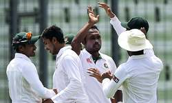 Bangladesh dominate first session as openers falter in 2nd Test