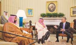 Obama addresses Arab concerns before Camp David summit