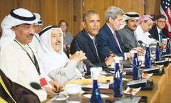 Obama's Arab summit: a low-key beginning
