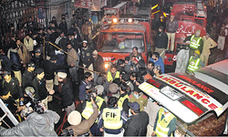 Family buries children who perished in Lahore fire