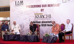 'We are poetic about Karachi'