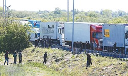 Cameron sets red line in EU talks as migration soars