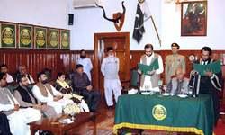 Qudoos Bizenjo sworn in as acting governor