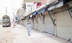 Strike in Balochistan in protest against operation in Kalat, Mastung