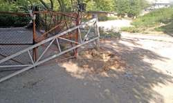 Barriers installed on police advice but removed by CDA