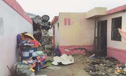 Tornado kills 13 in Mexico's border city; 12 missing in Texas