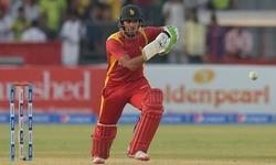 Ton-up Raza helps Zimbabwe post fighting total