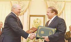 Pakistan, Belarus sign 20 agreements