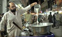 Islamabad — not a city for cheap food