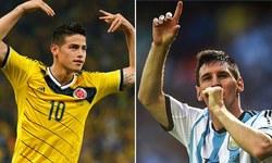Video: It's Messi vs James at the Copa America