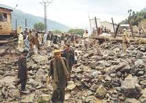 Nine die as flash flood sweeps away bazaar in Upper Dir