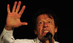 PTI sticks to its stance on '13 polls before commission