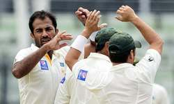 Wahab Riaz out of second Test with fractured hand