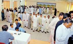 Thousands of hopefuls file papers for LG elections