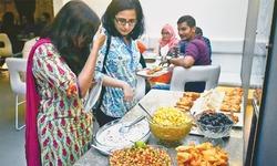 The Iftar-cum-dinner season