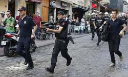 Istanbul police use tear gas, water cannons to break up gay pride rally