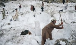 Power outages force Dir people to rely on mountain ice