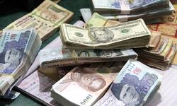 Global reserves drop