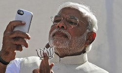 "After wifi at the Taj, Modi revives campaign for ""digital"" India"