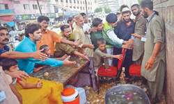 Several heatwave relief camps still function