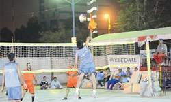 Three matches decided in rocball event