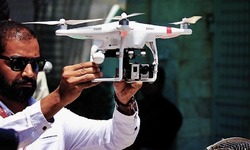Drone cameras for police operations