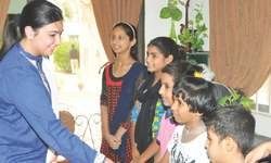 Aseefa visits home of abandoned children