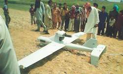 Unidentified drone crashes near Working Boundary