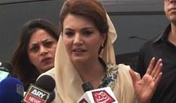 'ہیٹ اسٹروک' متاثرین کی عیادت کیلئے ریحام کراچی میں