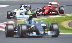 Hamilton the home hero with British GP pole