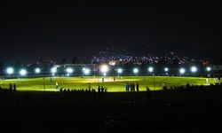 Night cricket tourney attracts crowds