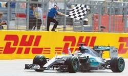 Ode to joy for victorious Hamilton