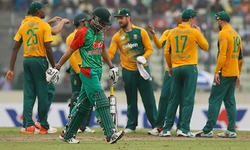 South Africa bring Bangladesh back to earth with crushing defeat