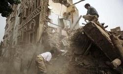 Saudi-led warplanes bomb Saleh party HQ in Yemen capital