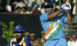 Video: Dhoni blasts his way onto the world stage