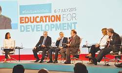 Despite challenges, Pakistani govt giving top priority to education, PM tells summit
