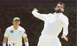 ICC bans Hafeez from bowling for one year