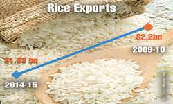 Threat to rice exports