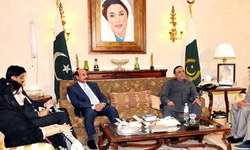 Shah, 3 ministers attend PPP meeting in Dubai